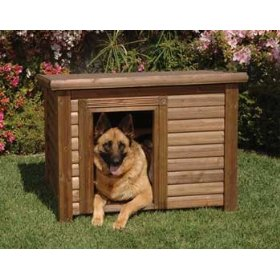 Large Dog Log Cabin